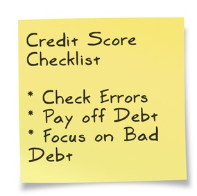 credit-score-factors-checklist-and-bad-credit-repair