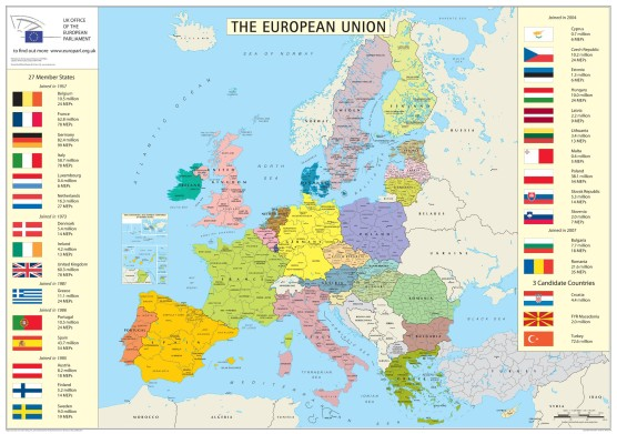 european-union-member-states-detailed-map
