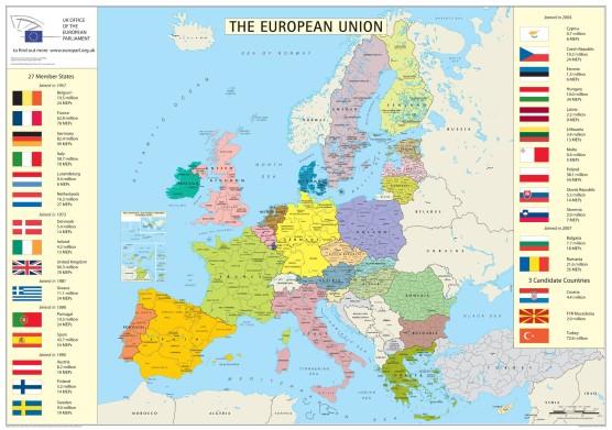 european-union-member-states-detailed-map